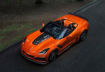 Nog meer sensaties in de Chevrolet Corvette ZR1 Convertible #1