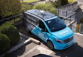 Mercedes valide la livraison par drones #1