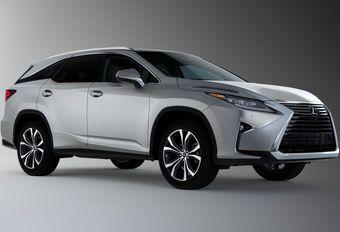 Lexus RX L: 7 plaatsen en 11 centimeter meer #1