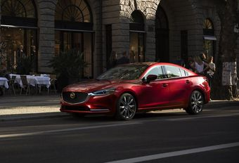Mazda 6: nieuwe motor #1
