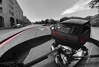 Honda s'offre un simulateur de conduite à la pointe #1