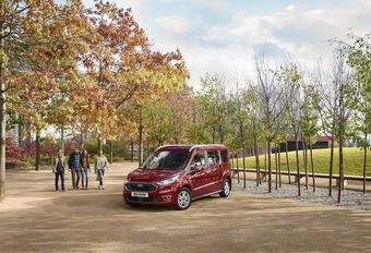 Ford retoucheert Courier en Connect #1