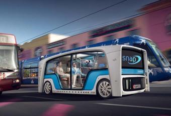 CES 2018 – Rinspeed Snap : une voiture autonome et multitâche #1