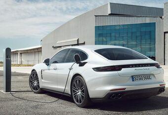 Porsche Panamera : plus de 90% d'hybrides en Belgique #1