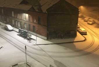 Sneckdown : quand la neige révèle les trajectoires utilisées #1