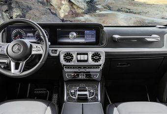 Mercedes Classe G : images de l'habitacle #1