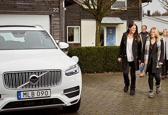 Des Volvo XC90 autonomes à des familles #1