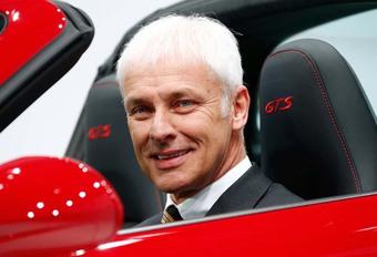 Matthias Müller veut limiter la vitesse sur les autoroutes allemandes #1