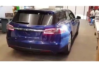 Tesla Model S : et maintenant le break ? #1