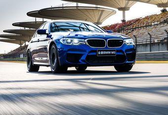 BMW M5: circuitrecord in Sjanghai #1