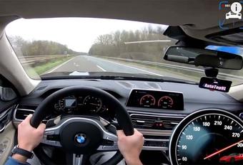 INSOLITE – 320 km/h en BMW M760Li  #1