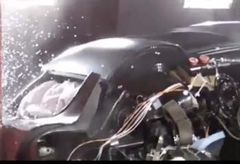 Koenigsegg : une session de crash-tests pour la Regera !  #1
