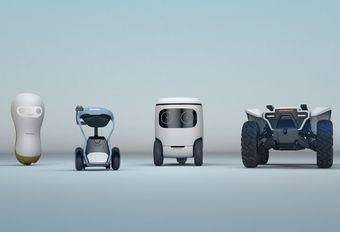 CES 2018 – Honda: vier robots voor CES #1