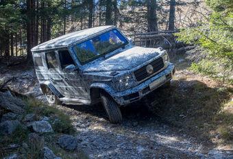 Mercedes Classe G : dévoilement le 15 janvier #1