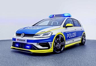 Deze Volkswagen Golf 400R is de ideale politieauto #1