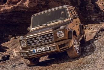 Gelekt: eerste beelden nieuwe Mercedes G-Klasse #1