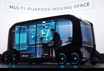 CES 2018 – Toyota e-Palette: bestelwagen zonder beperkingen #1