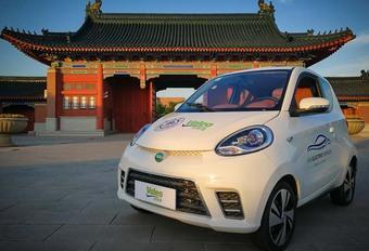 CES 2018 – Valeo: goedkope elektrische auto onder laagspanning #1