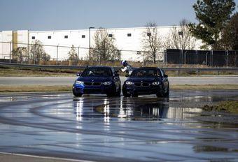 La BMW M5 bat le record du plus long drift… #1