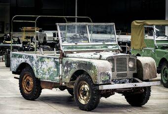 Land Rover restaureert een van zijn 3 eerste prototypes #1