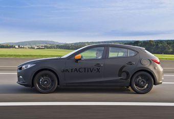 Mazda Skyactiv X : de 20 à 30% de consommation en moins #1