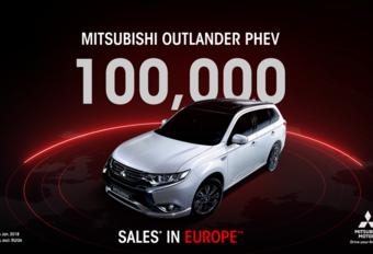 Mitsubishi Outlander PHEV al 100.000 keer verkocht in Europa #1