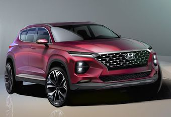 GimsSwiss 2018 - Hyundai Santa Fe : esquisses officielles #1