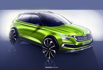 Gims 2018 - Škoda Vision X : concept hybride précurseur #1