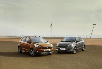 Ford Ka+ en Ka+ Active: facelift en cross-over #1