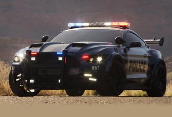 Ford komt met zelfrijdende en zelfbekeurende politiewagen #1