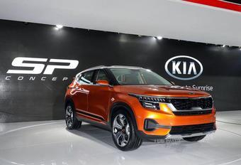 Kia SP Concept : le futur SUV indien #1