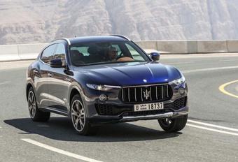 Maserati : le Levante pourrait disparaître #1