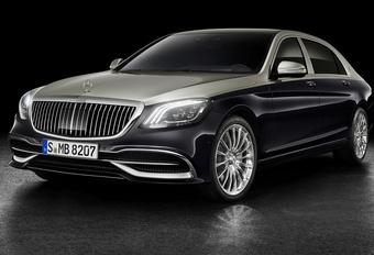 Mercedes-Maybach S-Klasse krijgt ook een facelift #1
