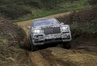 La Rolls-Royce Cullinan s'appellera... Cullinan #1