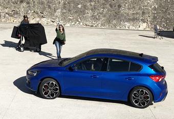 Nieuwe Ford Focus laat zich fotograferen #1