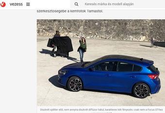 Ford Focus 2018 : première photo de la 4e génération #1