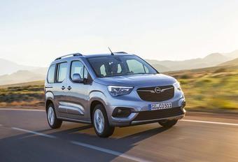 Opel Combo 2018 : Génétique de Berlingo #1