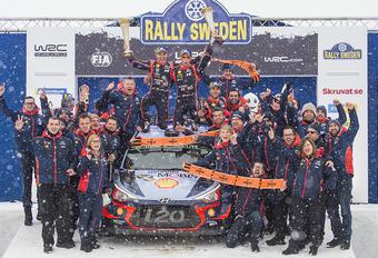 Magistrale Thierry Neuville wint rally van Zweden en wordt WK-leider! #1