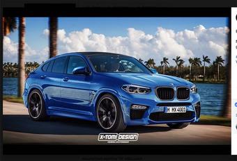 BMW : bientôt le X4 M #1