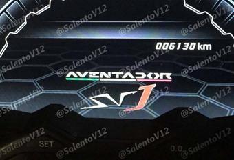 Lamborghini : voilà la SVJ, version extrême de l'Aventador #1