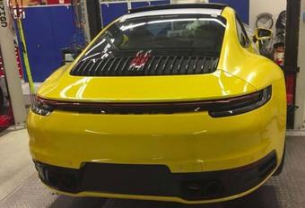 Porsche : serait-ce la future 911 2019 ? #1