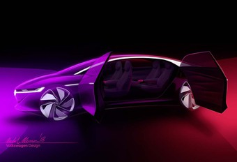 Gims 2018 – Volkswagen I.D. Vizzion 2018 : la future Phaeton esquissée #1