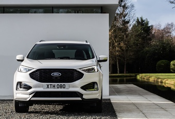 Ford Edge krijgt facelift en powerdiesel #1
