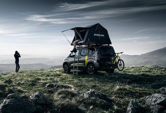 GimsSwiss - Peugeot Rifter 4x4 : camping sauvage #1