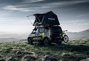 Met het gezin op avontuur: Peugeot Rifter 4x4 Concept #1