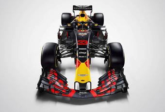 Dit zijn de racekleuren van de Red Bull RB14  #1