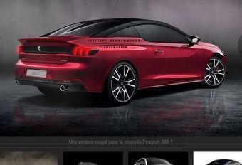 Peugeot 508 : imaginée en coupé ! #1