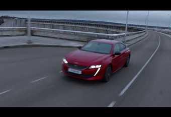 Peugeot 508 : une vidéo de la lionne en mouvement #1