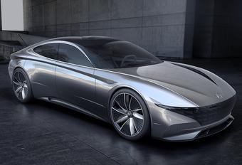 """Hyundai Concept """"le fil rouge"""": scharnierpunt voor het design #1"""