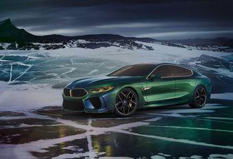 Gims 2018 – BMW Concept M8 Gran Coupé : GT munichoise #1
